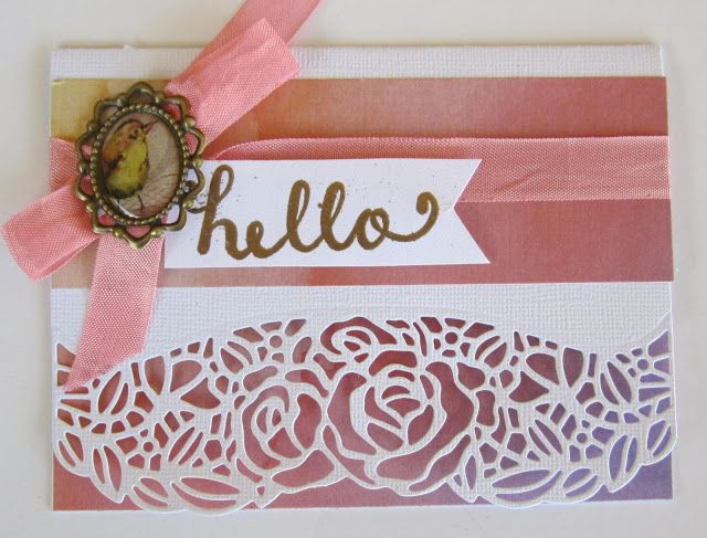 kerrie gurney : L'Aquarelle Collection Cards   Ultimate Crafts