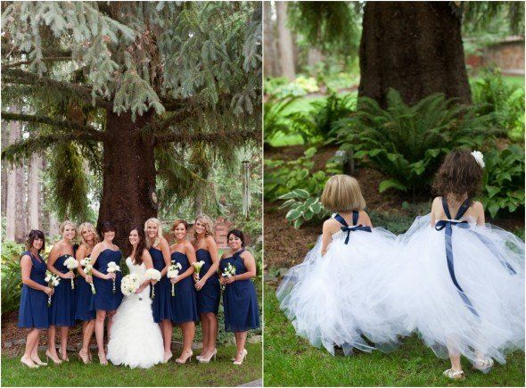 navy blue wedding color inspiration