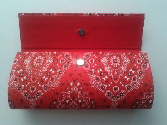 098781c19 BOLSA CLUTCH CARTONAGEM | CARTERAS | Cardboard Crafts, Purses e Bags