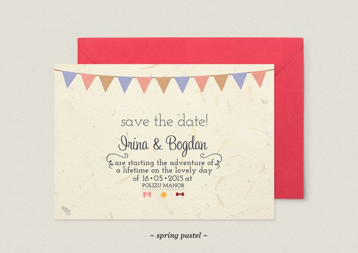 Save the Date Cards - Popcake Photography | Popcake Photography