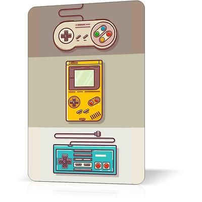 METAL TIN SIGN NINTENDO CONSOLES CLASSIC VIDEO GAME Vintage Decor Home Wall ART