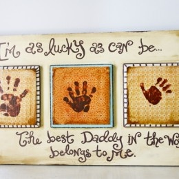father's day gift ideas....oh what a great idea for daddy's office next year!!!