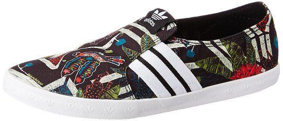 adidas Adria PS Slip-On, Damen Slipper, Schwarz (Core Black/Ftwr White/Core Black), 38 2/3 EU (5.5 Damen UK)