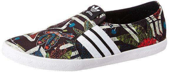 adidas Adria PS Slip-On, Damen Slipper, Schwarz (Core Black/Ftwr White/Core Black), 38 2/3 EU (5.5 Damen UK)