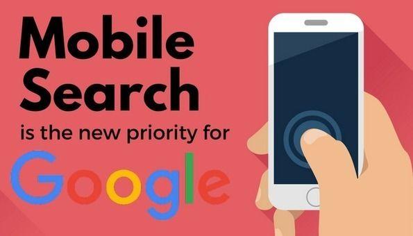 """[À tous ] Google a séparé son index pour en créer un pour le mobile. Celui du """"Desktop"""" sera deuxième en priorité. Mot : Pensez mobile!"""
