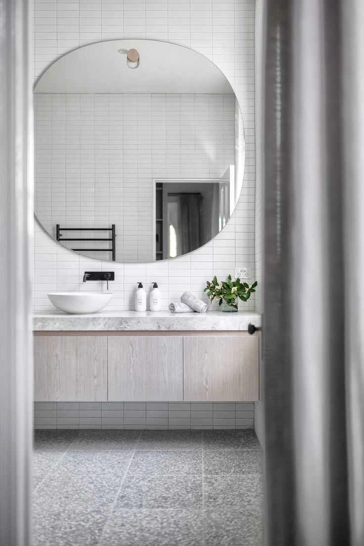 Bathroom | Open House: 71 Cunningham Street, Northcote | Jellis Craig | est living