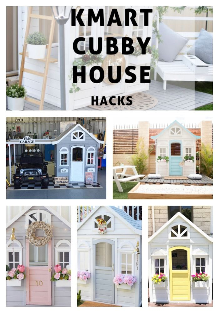 The BEST Kmart Cubby House Hacks