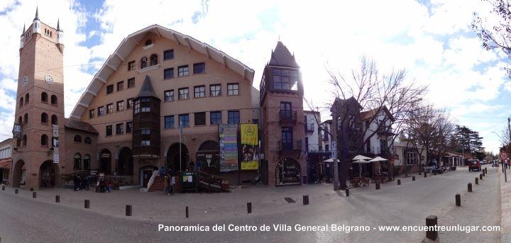 Panorámica del Centro de Villa Gral. Belgrano