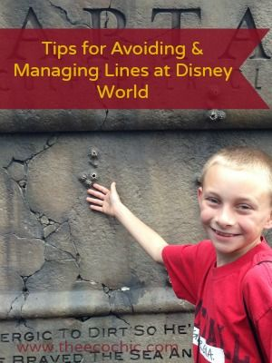 Tips for Avoiding and Managing Lines at Disney World www.theecochic.com
