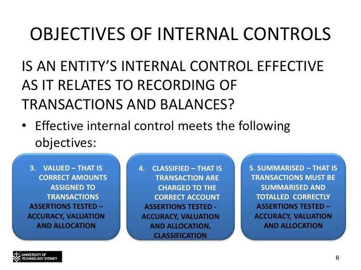 Topic 5 - Understanding internal controls