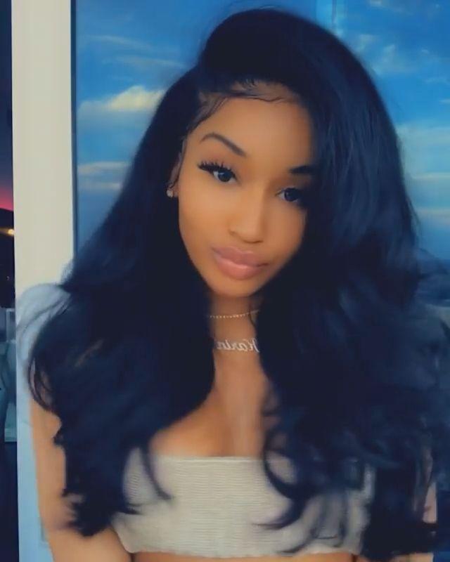 Black Women Hair 7180 Virgin Hair In 2020 Hair Styles Wig Hairstyles Womens Hairstyles