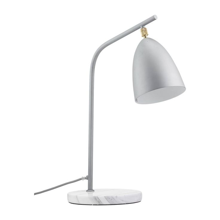 Mel Table Lamp (Silver) - Table Lamps - LIGHTING