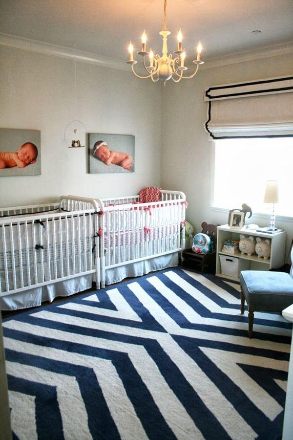 35 Cute Twin Nursery With Warm Colors