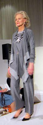 Idiosyncratic Fashionistas: Models of a Certain Age: We Model Marla Wynne Fashions