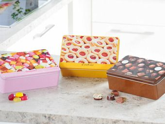 Коробка для печенья ZELLER 20,2х13,2х7 см (38207)