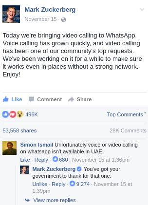 Mark Zuckerberg just went full savage http://ift.tt/2g1Xvxa