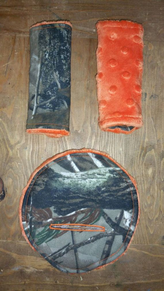 Realtree Infant Carseat Seatbelt Covers And Belly By