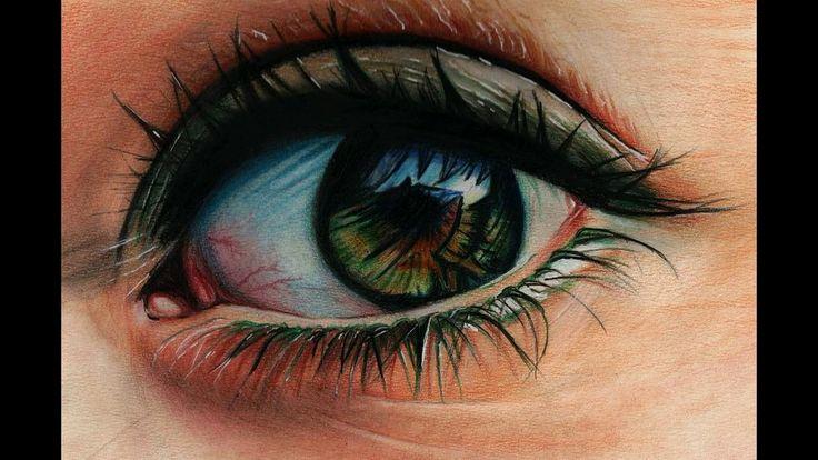 ТОП 15 рисунков глаз как живые