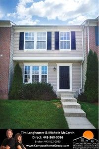 Welcome home to 505 Cool Breeze Court Aberdeen MD 21001 MLS# HR8326085 - A 3 bedroom 3.5 bath town home in the Hollywoods Community!  $5,000 carpet and paint credit and Owner is willing to hold the financing on this home!!