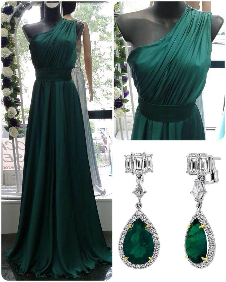 Rochii de seara desire - Emerald - 390 ron