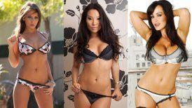 Estas son las tres actrices porno más vistas durante el último año.