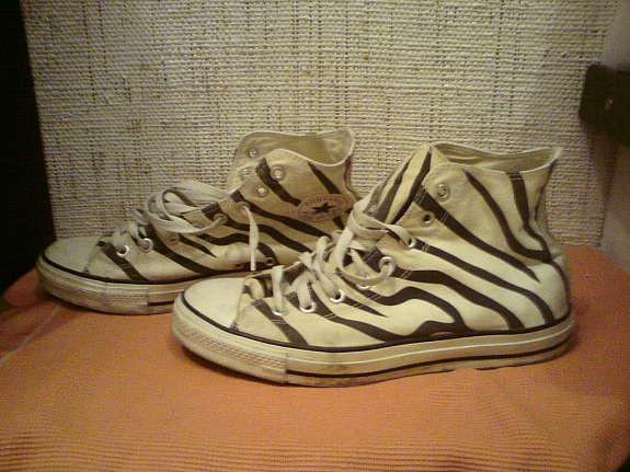 Converse- Zebra Muster, günstig kaufen und gratis inserieren auf willhaben.at!