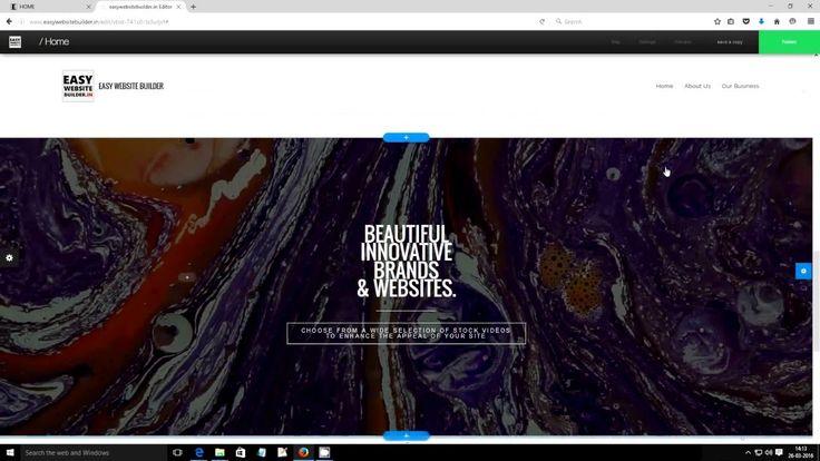 Easy Website Builder Lesson 9