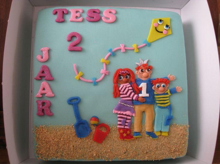 Foto van de week (week 45 2012): Zandkasteel taart gemaakt door Wendy de Ridder