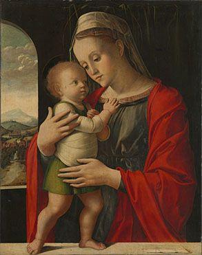 Alvise Vivarini   Virgin and Child   L1158   The National Gallery, London