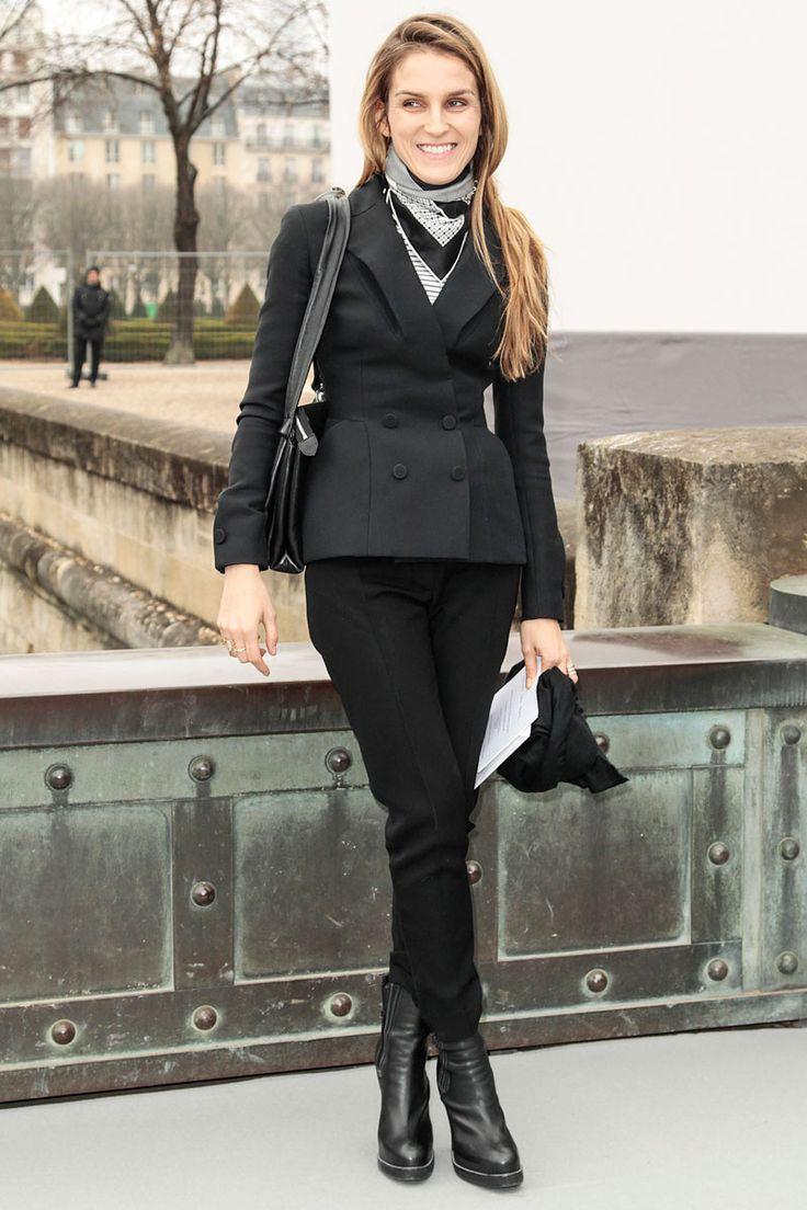 Los VIP del Paris Fashion Week Otono Invierno 2013 - Gaia Repossi