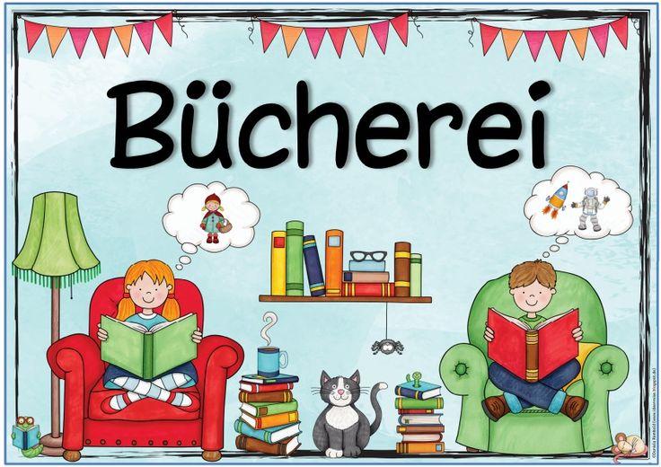 """Ideenreise: Themenplakat """"Bücherei"""""""