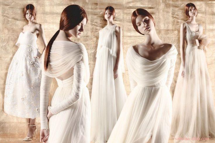 Свадебная коллекция Del Pozo 2015