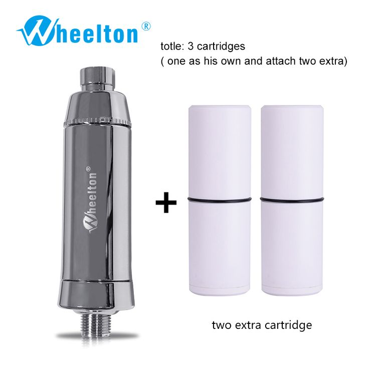 Household bathing Water purifier filter Dechlorination Shower filtration Soft water Attach extra 2 cartridges Free shipping