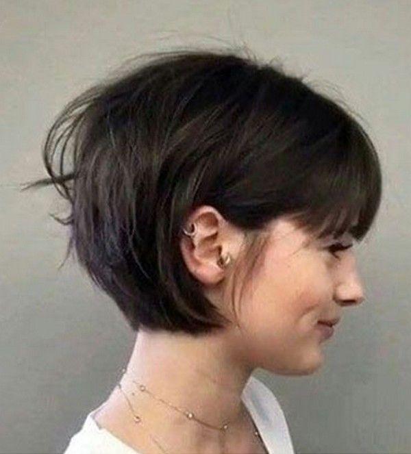 48+ Bob haircut with bangs ideas in 2021