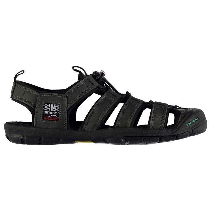 Karrimor Ithaca Leather Mens Walking Sandals Brown