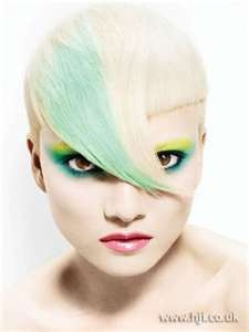 Hair Style Picture: Hair Colors Ideas, Blondes Hairstyles, Mint Green, Shorts Hair, Haircolor, Mint Hair, Makeup Tips, Alternative Hair, Hair Style