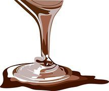 「チョコソース イラスト」の画像検索結果
