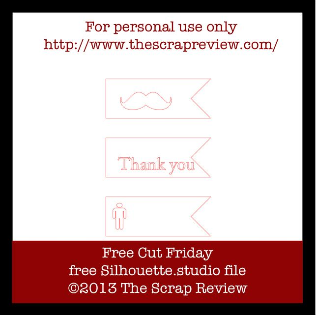 Free Cut Friday is up and ready!! http://www.thescrapreview.com/2013/04/free-cut-friday_19.html