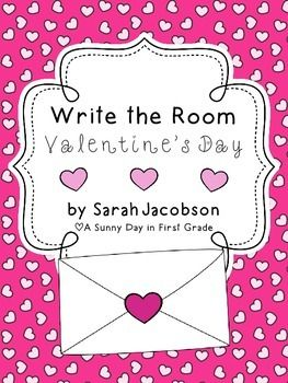This is a fun Write the Room for Valentine's Day! There are 9 words cards and 2 choices of recording sheets. :) Enjoy!! :)