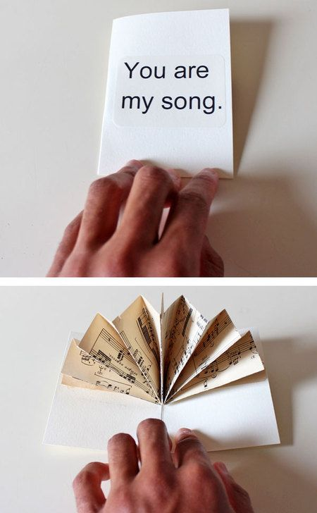 Create a Music Fan Pop-Up Card!