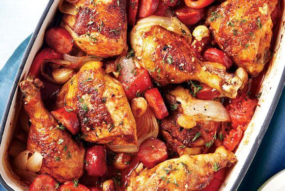 Basque Roast Chicken Canadian Living Chicken Basque Roast Chicken Recipes Basque Food