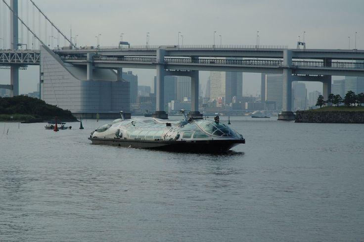 #東京 #お台場 #レインボーブリッジ #東京湾 #船 #水上バス #卑弥呼