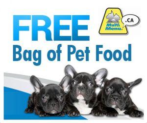 Multi Menu Dog or Cat Food Samples