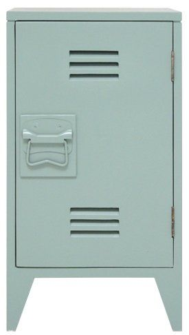 HK-living Nachtkastje groen hout 65x36x33cm, Nachtkastje opal silk