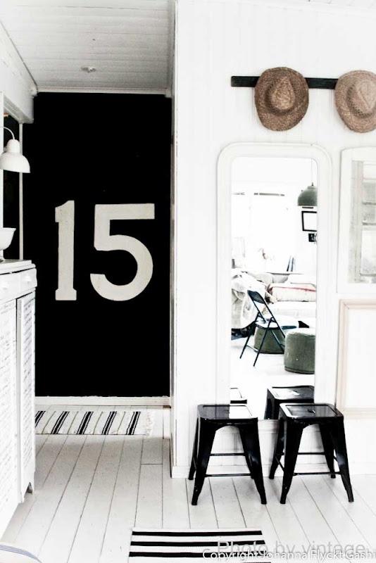 Via Johanna Vintage | Black and White | Hallway