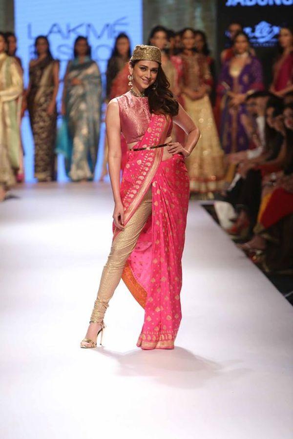 Aditi Rao Hydari walks for Ritu Kumar's extremely gorgeous bridal collection