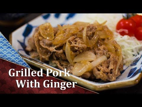 11 best japanese recipes videos images on pinterest japanese food grilled pork with ginger recipe cooking japanese youtube forumfinder Gallery