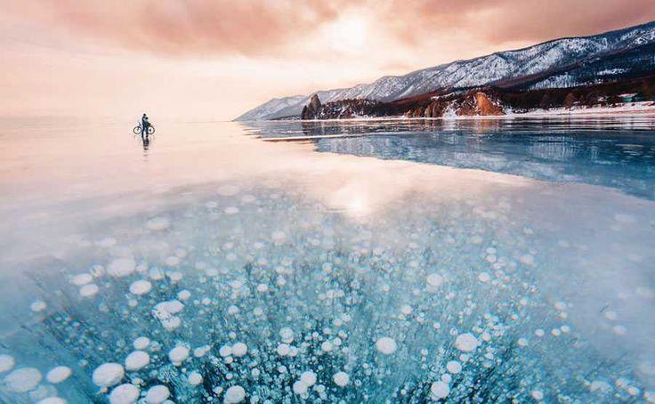 Elképesztően gyönyörű befagyva a Föld legmélyebb tava – Termalfurdo.hu