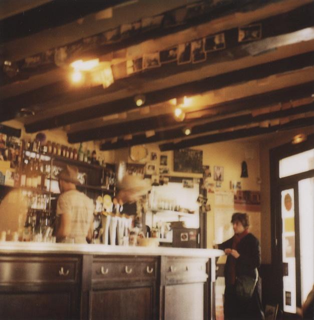 bar in Paris, by Jen Gotch