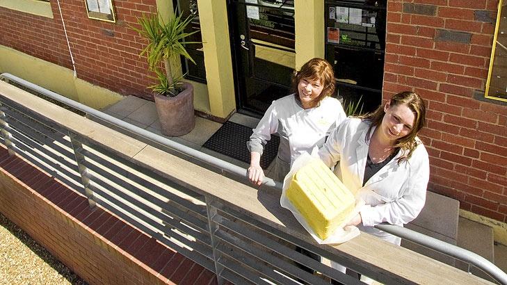 Myrtleford Butter Factory hand made cultured butter